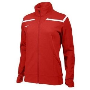 NWT NIKE RED TRAINING JACKET WOMENS SIZE MEDIUM